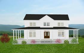 the magnolia farmhouse plan 2300 sq ft simple layout 2 story