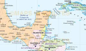 Centro America Map by Large Digital Vector Map Of Central America And The Caribbean In
