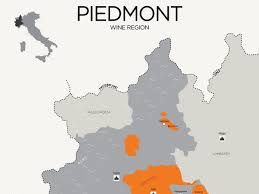 Italy Region Map by Essential Guide To Piedmont Wine With Maps Wine Folly