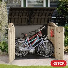 Chocolate Accents by Lifetime Horizontal Storage Shed With Simple Storage For Bike And