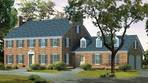 Hip Roof Ranch House Plans Georgian House Plans And Georgian Designs At Builderhouseplans Com