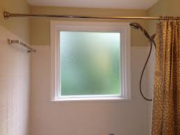 what to do if you have a window in your shower install a