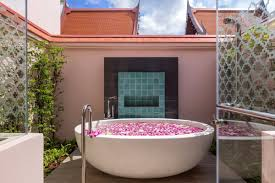 bathe under the stars hotels with glorious outdoor bathtubs room5