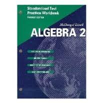 math worksheet   mcdougal littell algebra   textbook pdf algebra structure and   Holt Algebra   lbartman com