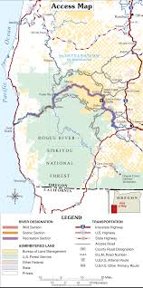 Bandon Oregon Map by Rogue River U2013siskiyou National Forest Wikipedia