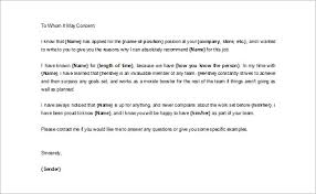 Business Letter of Reference Template       Painting and Construction Blog   RiverRun Village