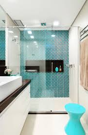 Bathroom Shower Tile by Beautiful And Serene Turquoise In The Bathroom Springrefresh