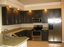 Painting Kitchen Cabinets Espresso Brown Painted Kitchen Cabinets