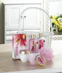 wholesale night rose and sandalwood bath gift set cheap