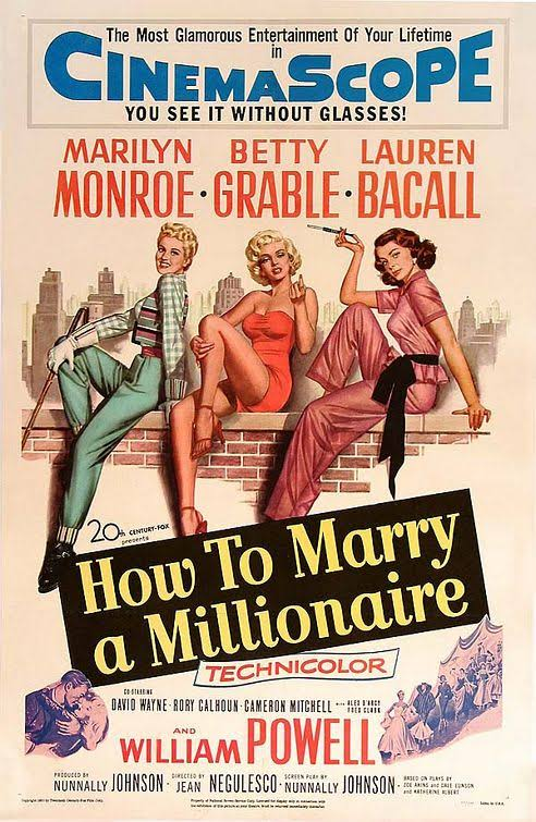 Image result for How To Marry A Millionaire 1953