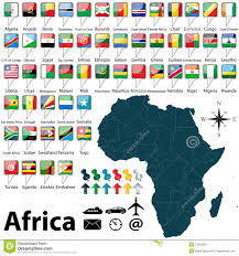 Map Of Mali Africa by Map Of Africa Stock Photos Image 34362893