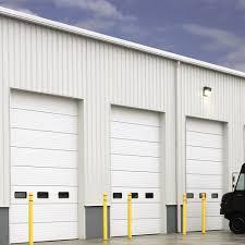 insulated sectional steel door 200