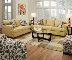 Chocolate Living Room Furniture by 6491 Simmons Caprice Cornsilk Sofa And Loveseat Also Comes In