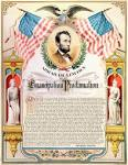 emancipation proclamation Lincoln color - public domain clip art ...