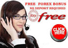 forex bonus no deposit 2011