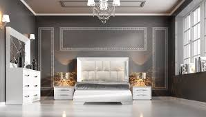 Contemporary Italian Bedroom Furniture Carmen White Modern Bedrooms Bedroom Furniture