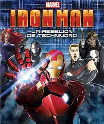 Iron Man: La rebelión del technivoro