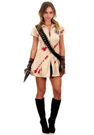 Girls Zombie Halloween Costumes Zombie Slayer Halloween Costume Photo Album Zombie Costumes