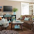Designing Around A Television | BHG Centsational Style