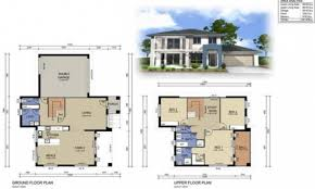 best two storey house design with floor plan photos home