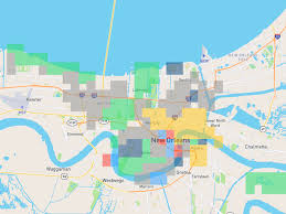 Map New Orleans French Quarter by This Crowdsourced Map Attempts To Define New Orleans Neighborhoods