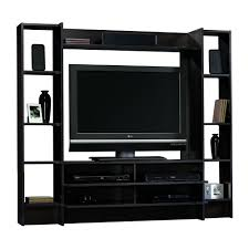 Tv Unit Furniture With Price Amazon Com Sauder Beginnings Entertainment Wall System Cinnamon