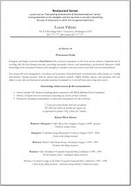 Resume Examples For Food Service by Restaurant Server Resume Food Server Resume Best Fast Food Server