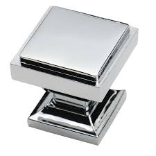 southern hills polished chrome square cabinet knobs pack of 5