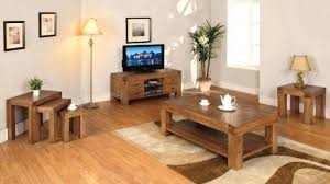 Living Room  Contemporary Wooden Living Room Furniture Reclaimed - Solid oak living room furniture sets