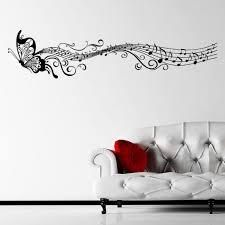 Music Home Decor by Ebay Musical Butterfly Music Notes Wall Sticker Decal Hanging