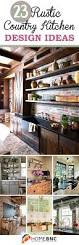 Kitchen Design Rustic by 23 Best Rustic Country Kitchen Design Ideas And Decorations For 2017