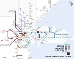 map of nyc commuter rail stations u0026 lines