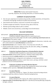 Liaison Resume Sample by Production Resume Samples Archives Damn Good Resume Guide