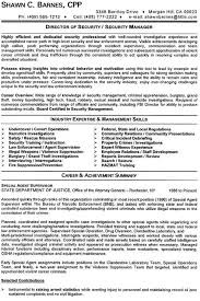 Director Of Operations Resume Sample by Security Industry Sample Resume