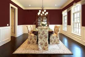 red dining room wall decor home design ideas