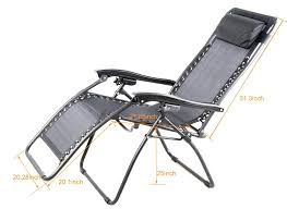 Mesh Patio Chair Amazon Com Outsunny Zero Gravity Recliner Lounge Patio Pool