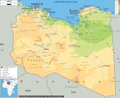 Physical Map Africa by Image Libya Physical Map Gif Liberapedia Fandom Powered By Wikia