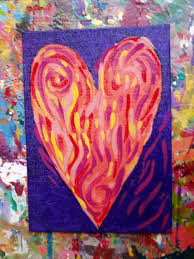 Home Decorators Collection Coupon Code Diy Painted Valentines Heart Inspired By U201cjim Dine U201d Simply Jane