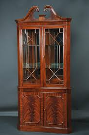 large door corner cabinet hutch dining room hutches design home