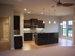 impressive cone white kitchen lighting design with black wooden