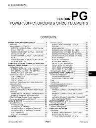 nissan altima 2005 crankshaft sensor 2003 nissan altima 2 5 serivce manual pg fuse electrical