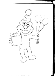 elmo birthday coloring pages 11094
