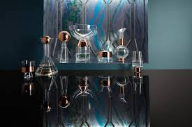 tank glass u0026 copper vases and barware from tom dixon design milk