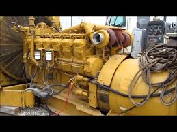 caterpillar sr4b generator with caterpillar 3512 diesel engine