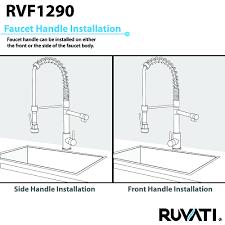 ruvati rvf1290k1st 28 inch pre rinse commercial style kitchen