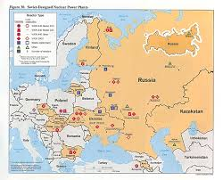 Map Of Europe During The Cold War by