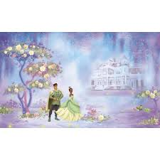 princess wall accents obedding com disney princess and the frog wall murals chair rail
