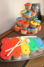 drum cupcakes artistic food pinterest drums birthdays and cake