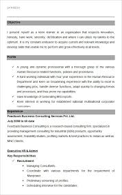 Resume Sample For Human Resource Position by Free Executive Resume Templates Non Profit Executive Page1 Free
