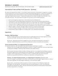 Executive resume cover letters  Impressive skills and profile executive resume cover letter examples     happytom co